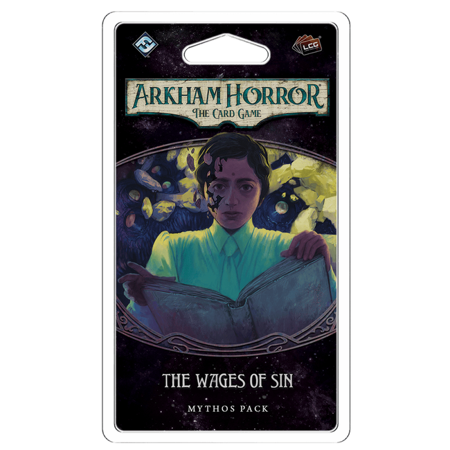 Fantasy Flight Games Arkham Horror - The Card Game (LCG) : The Wages of Sin [anglais]