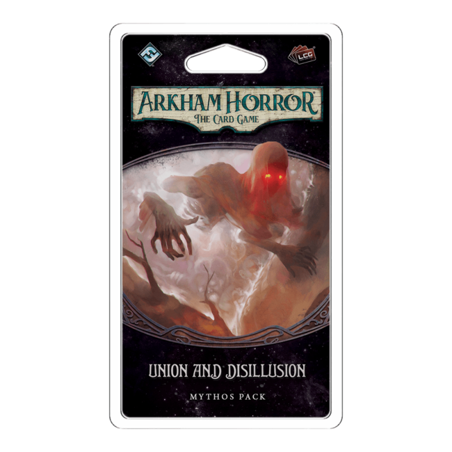 Fantasy Flight Games Arkham Horror - The Card Game (LCG) : Union and Disillusion [anglais]