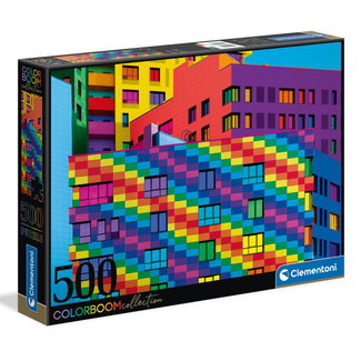 Clementoni ColorBoom - Squares (500 pieces)