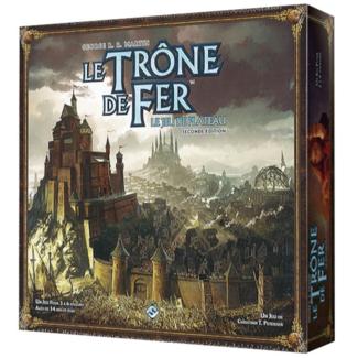 Fantasy Flight Games Trône de fer (le) - le jeu de plateau (seconde édition) [French]