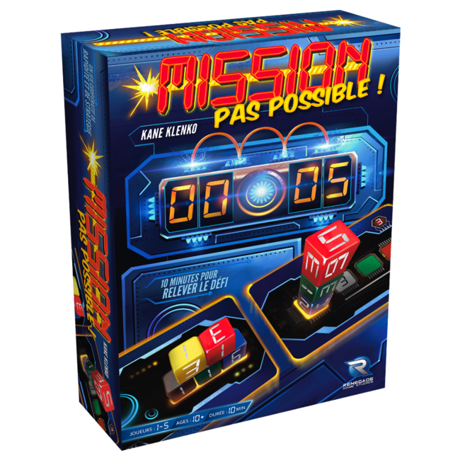 Renegade Game Studios Mission pas possible ! [French]