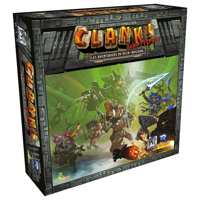 Renegade Game Studios Clank ! - Dans l'espace ! [French]