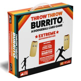 Exploding Kittens Throw Throw Burritos - Extreme Outdoor Edition [anglais]