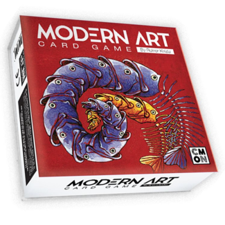 CMON Modern Art - The Card Game [anglais]