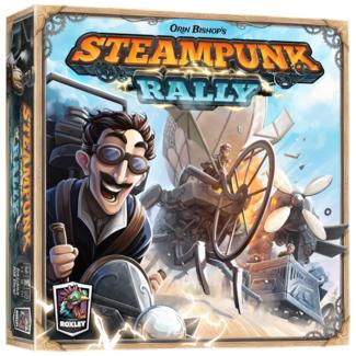 Roxley Games Steampunk Rally [anglais]