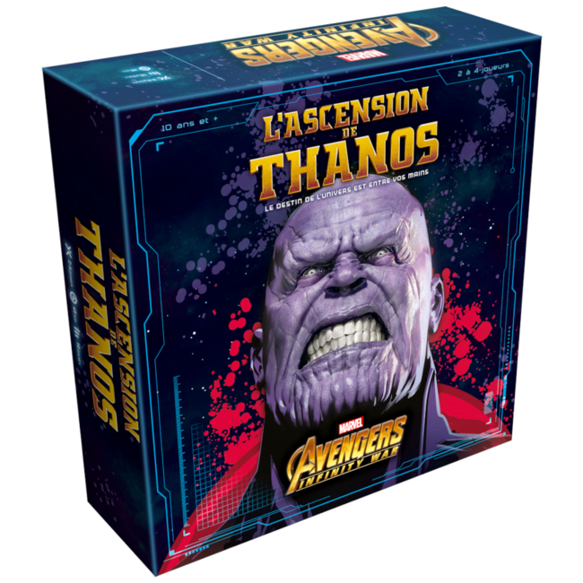 Lucky Duck Games Ascension de Thanos (l') [French]
