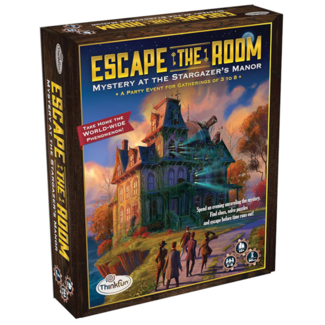 Thinkfun Escape the Room - Mystery at the Stargazer's Manor [English]