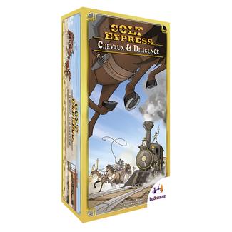 Ludonaute Colt Express : Chevaux & Diligence [français]