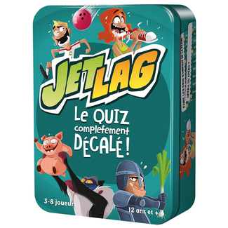 Cocktail Games Jet Lag [français]