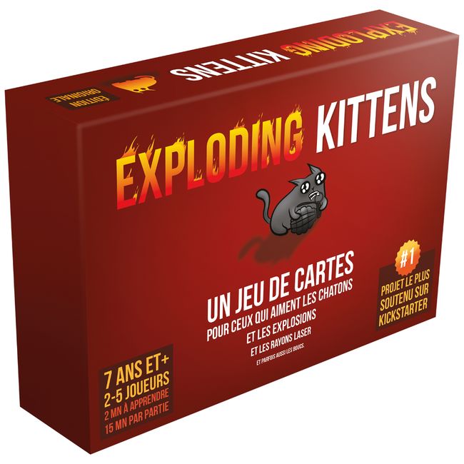 Asmodee Exploding Kittens [French]