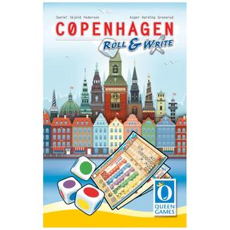 Queen Games Copenhagen - Roll & Write [Multi]