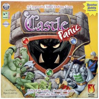 Fireside Games Castle Panic [English] *** Damaged Box 001 ***