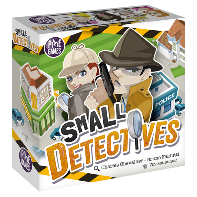 Pixie Games Small Detectives [Multi]