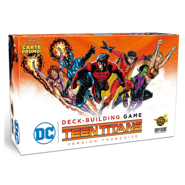 Don't Panic Games DC Comic - Deck Building Game - Teen Titans [French]