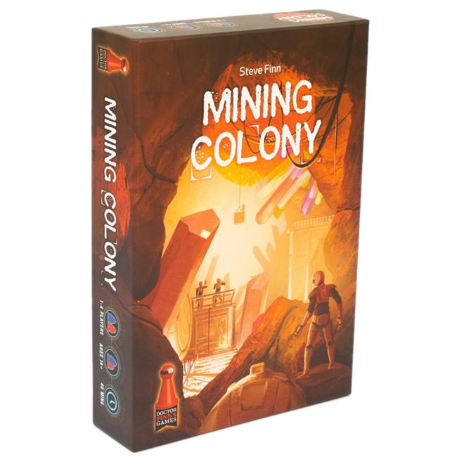 Dr. Finn's games Mining Colony [anglais]