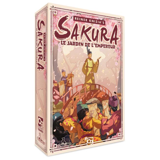 OriGames Sakura - Les jardins de l'Empereur [français]