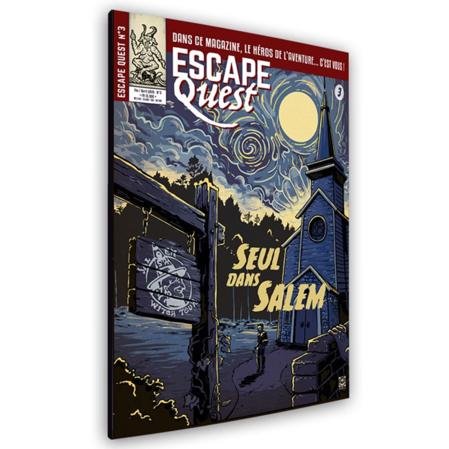 Don't Panic Games Escape Quest (3) - Seul dans Salem [French]
