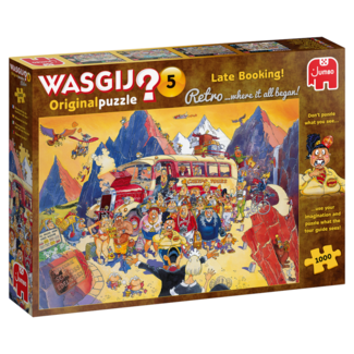 Jumbo Wasgij Original #5 - Late Booking! (1000 pieces)