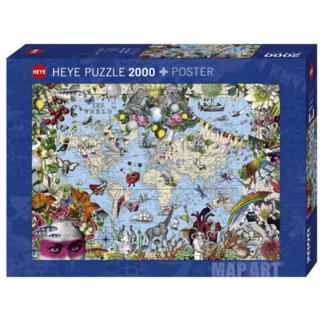 Heye Quirky World (2000 pieces)