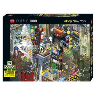 Heye Pixorama - New York Quest (1000 pieces)