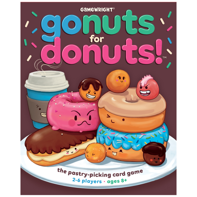 Gamewright Go Nuts for Donuts [English]