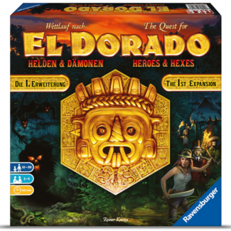 Ravensburger Quest for El Dorado (the) : Heroes and Hexes [English] ***Damaged Box - 002***