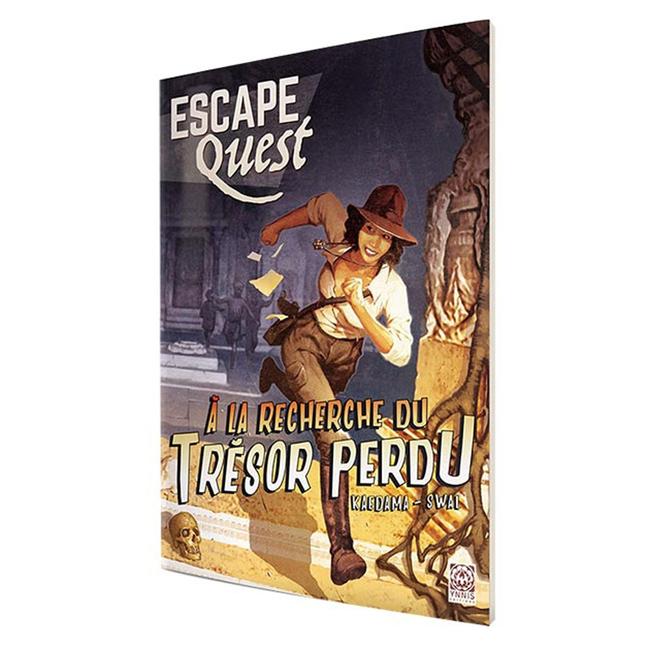 Don't Panic Games Escape Quest (1) - À la recherche du trésor perdu [French]