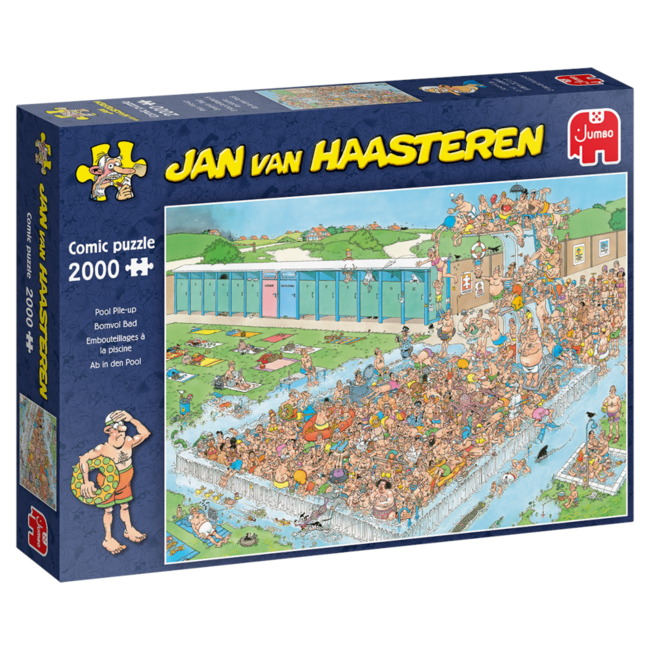 Jumbo Pool Pile-Up - JvH (2000 pieces)