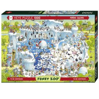 Heye Funky Zoo - Polar Habitat (1000 pièces)
