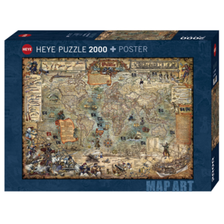 Heye Pirate World (2000 pieces)