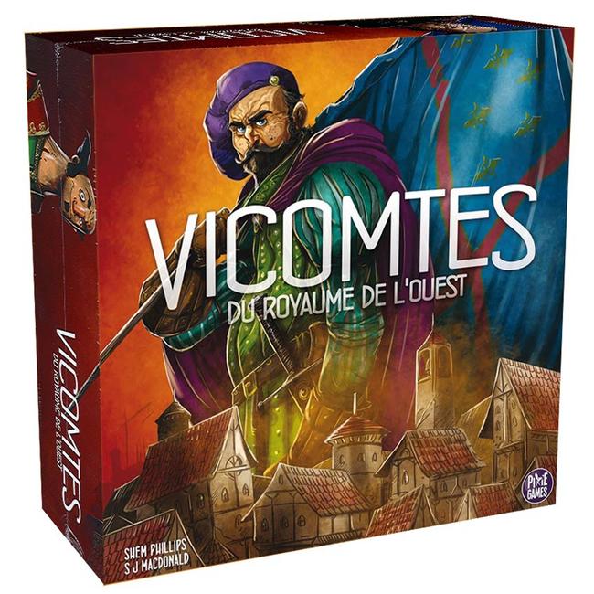 Pixie Games Vicomtes du Royaume de l'Ouest [French]