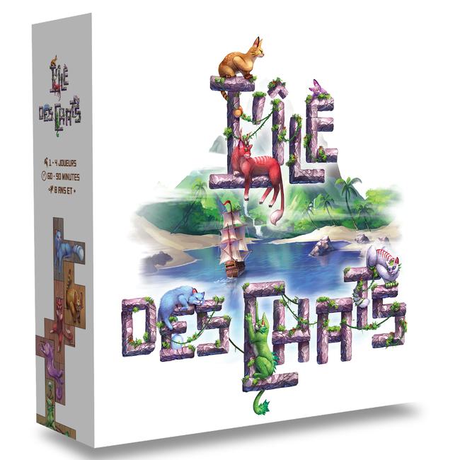 Lucky Duck Games Île des chats (l') [français]