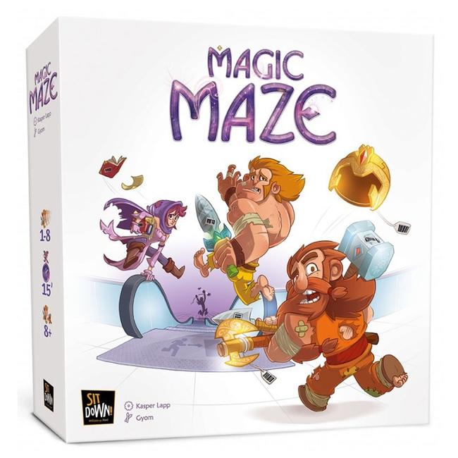 Sit Down ! Magic Maze [multilingue]