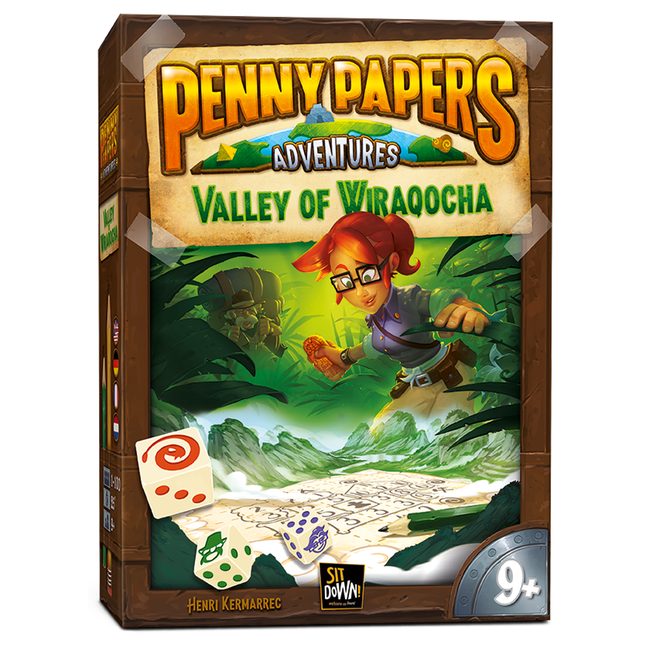 Sit Down ! Penny Papers Adventures - Valley of Wiraqocha [Multi]