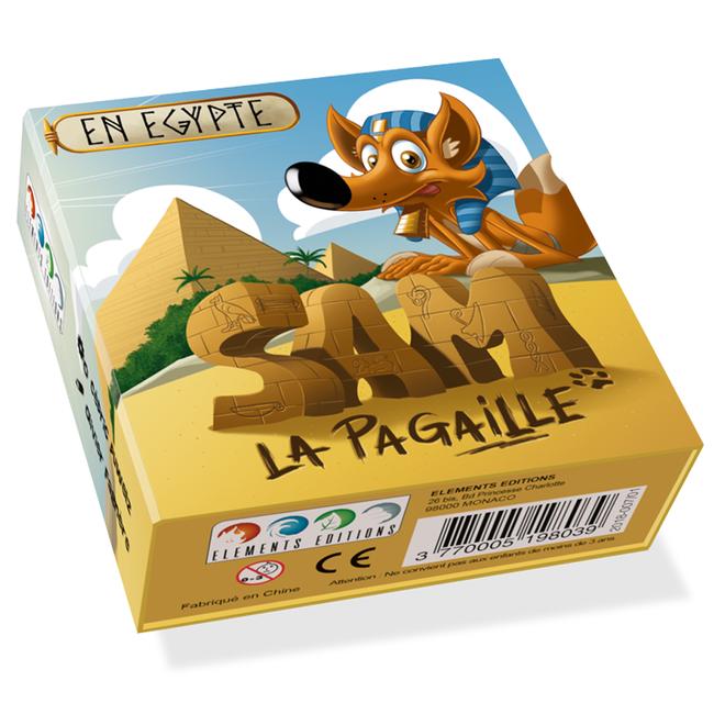 Elements Editions Sam la Pagaille - En Égypte [français]