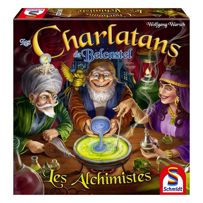 Schmidt Spiele Charlatans de Belcastel (les) : Les alchimistes [français]