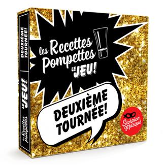 Scorpion Masqué Recettes Pompettes (les) - le jeu : Deuxième tournée! [French]