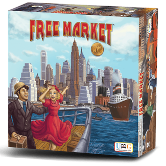 Unique Board Game Ltd Free Market - NYC [anglais]