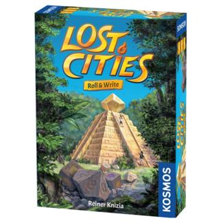 Kosmos Lost Cities - Roll & Write [English]