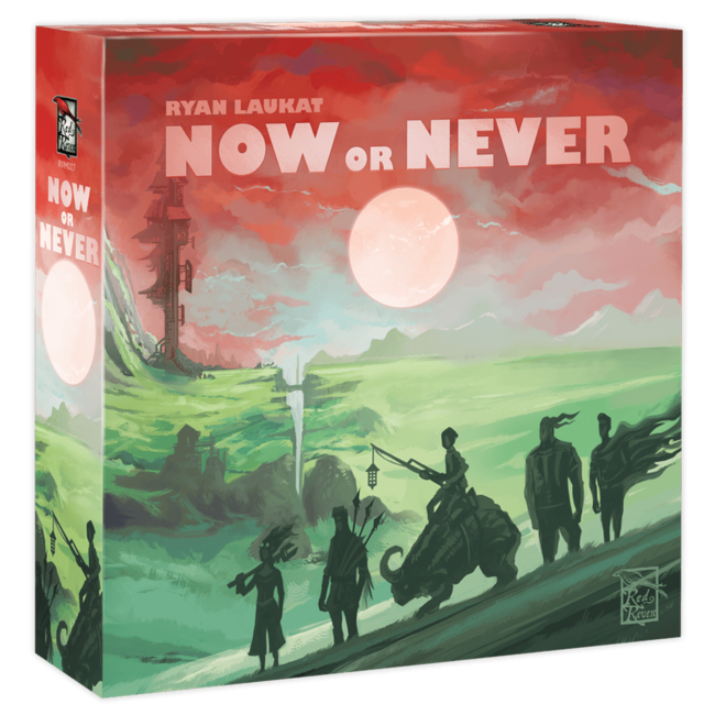 Red Raven Games Now or Never [anglais]