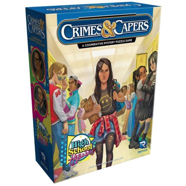 Renegade Game Studios Crimes & Capers : High School Hijinks [English]