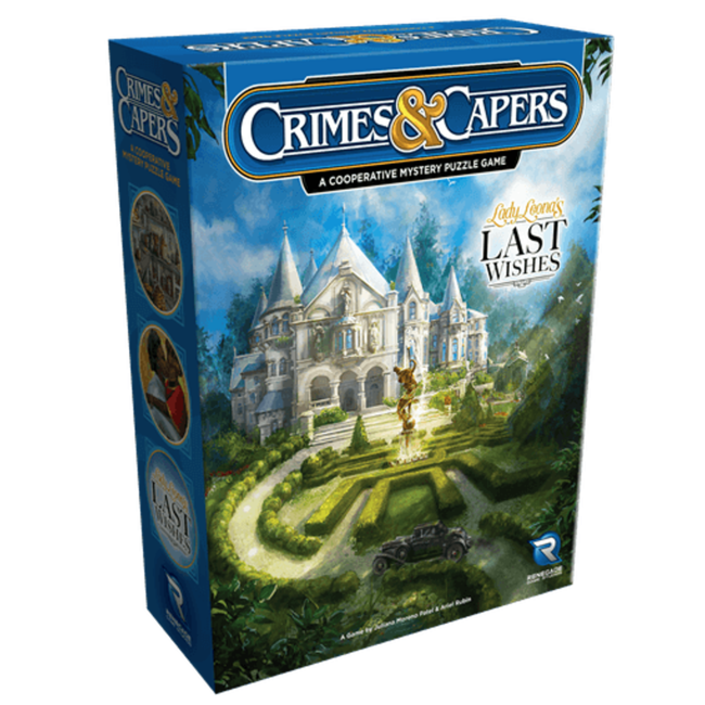 Renegade Game Studios Crimes & Caspers : Lady Leona's Last Wishes [anglais]