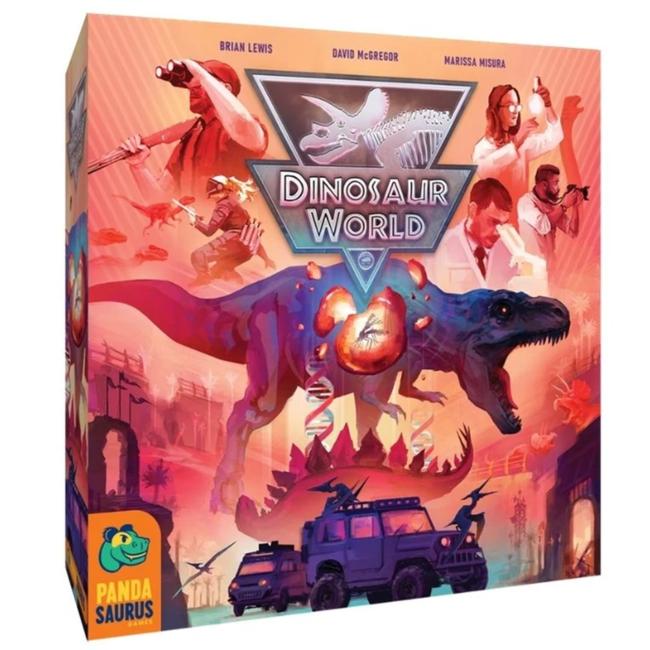 Pandasaurus Games Dinosaur World [English]
