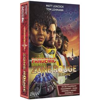Z-Man Pandemic - Zone Rouge - Europe [français]