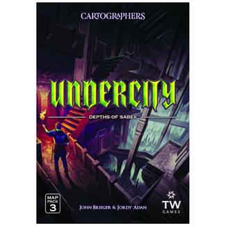 Thunderworks Games Cartographers : Map Pack 3 - Undercity [anglais]