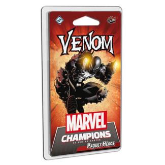 Fantasy Flight Games Marvel Champions (JCE) : Paquet Héros - Venom [français]