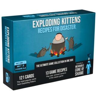 Exploding Kittens Exploding Kittens - Recipes for Disaster [English]