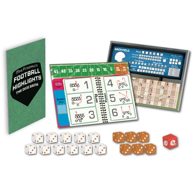Eagle-Gryphon Games Baseball Highlights - The Dice Game : Football Highlights [anglais]