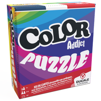 France Cartes Color Addict - Puzzle [French]