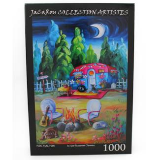 JaCaRou Puzzles FUN, FUN , FUN (1000 pieces)